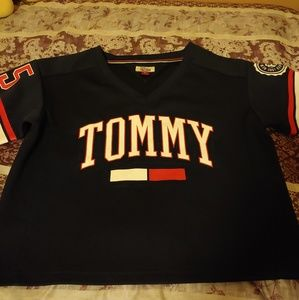 Tommy Hilfiger cropped jersey
